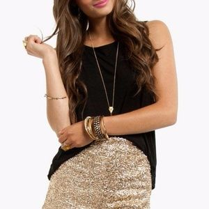 70c29ffe9a ... BEBE Sequin Tap Shorts - FABULOUS + Brand NWT ...